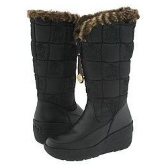 c0a33f2f3408 Juicy Couture Shoes - Juicy Couture Faux Fur Snow Boots